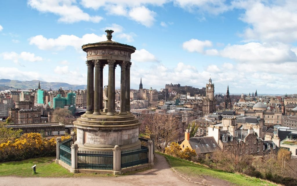 Edynburg za 121 zł w listopadzie!